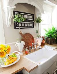 above kitchen sink decor inspire idea for the with no