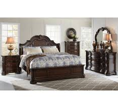 Alexandria 5 Pc Queen Bedroom Group   Badcock &more   Furniture must ...