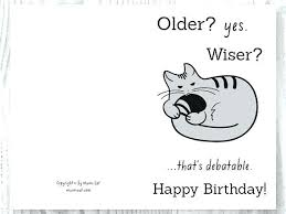 Funny Birthday Card Printables Printable Birthday Cards In Black And White Download Them Or Print