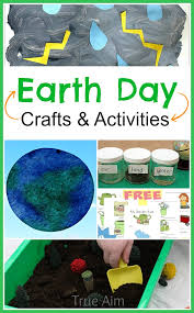 Earth Day Activities and Crafts at Mom's Library #134 | True Aim