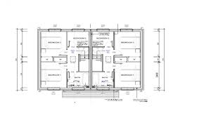 semi detached house plan numberedtype