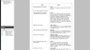 av script tutorial on celtx on vimeo
