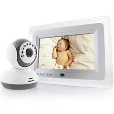 Amazon.com : SafeBabyTech 7-Inch LCD Baby Monitor with Wireless ...
