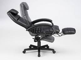 magnificent ergonomic office chair with footrest reclining office chair with footrest repley ideas picture desk