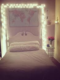 bedroom lighting ideas pinterest. Bedroom Fairy Lights And World Map Decor Pinterest Lighting Ideas O