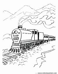 The best free, printable train coloring pages! Train Track Coloring Pages Elegant Polar Express Train Coloring Pages Personalsolutions Train Coloring Pages Coloring Pages For Boys Coloring Pages For Kids