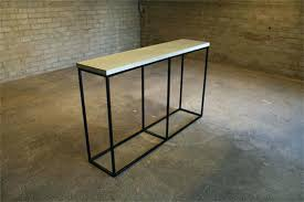 skinny side table tall skinny cool console tables tall black metal side table