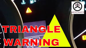 Nissan Qashqai Malfunction Warning Light Red Is That Triangle Warning Light Irritate You Let See Why Its Comes