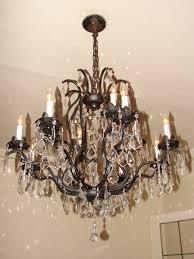 incredible design bronze chandelier with crystals 8