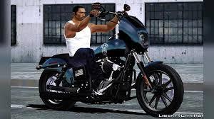 Harley-Davidson Street Bob - Sons Of Anarchy for GTA San Andreas