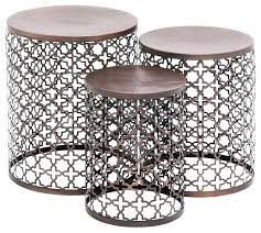 wicker patio side table endearing beautiful metal outdoor end tables accent