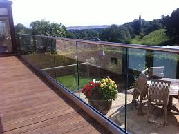 glass deck railing systems uk