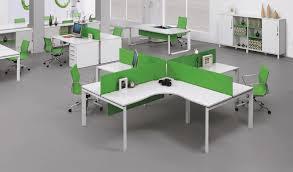 small office workstations. u0027ehalfu0027 4 seater modular desking system small office workstations