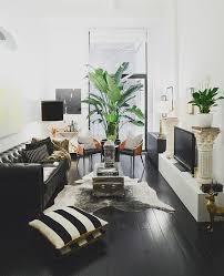 29 black sofa living room decor colour