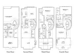 Luxury Townhouse Plans With Luxury Townhouse Floor Plans Caceres Townhomes Floor Plans