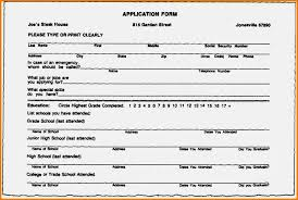 How To Fill Out A Resume 21 Fill Out A Resumes How To Resume