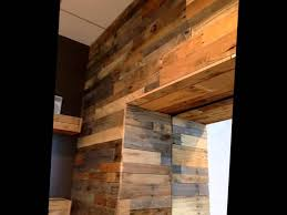 pallet wood wall panels