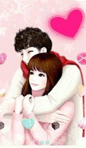 love cartoon couple wallpapers free