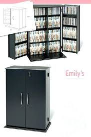 fancy locking dvd cabinet media storage cabinet modern stand black white target glass doors with drawers