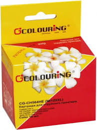 Картридж струйный Colouring CG-<b>CH564HE</b> №<b>122XL цветной</b> ...