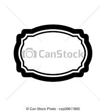 simple frame design. Black Beautiful Frame Design - Csp39811893 Simple