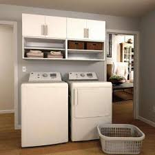 laundry room furniture. W White Open Shelves Laundry Cabinet Kit Room Furniture S