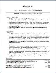 Functional Resume Samples Writing Guide Rg