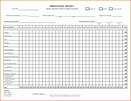 Time Clock Spreadsheet And Time Clock Spreadsheet Template