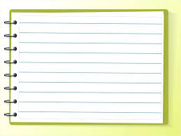 Template For Notebook Paper In Microsoft Word Download Them Or Print