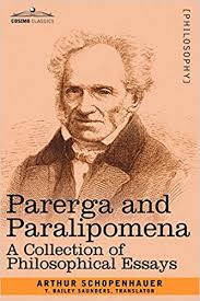 com parerga and paralipomena a collection of  com parerga and paralipomena a collection of philosophical essays 9781602063440 arthur schopenhauer books