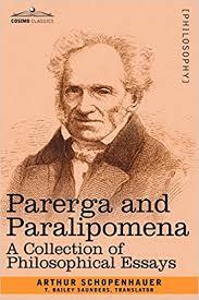 amazon com parerga and paralipomena a collection of  amazon com parerga and paralipomena a collection of philosophical essays 9781602063440 arthur schopenhauer books