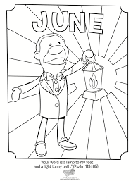 june coloring page psalm 119 105 whats in the bible