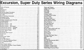 2004 ford excursion super duty f250 550 wiring diagram manual original F350 Super Duty Fuse Diagram 2004 ford excursion super duty f250 550 wiring diagram manual original · table of contents 2008 f350 super duty fuse diagram