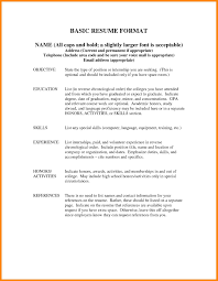 How To Put Double Minor On Resume Resumes List References