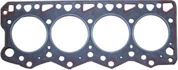 gasket. fig 1: a cylinder head gasket from car engine r