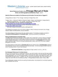 Chicago Manual Of Style A Manual For Writers Of Research Papers