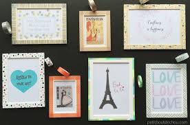 it s so easy and you can even do it with your kids to decorate their room with awesome photo frames of their own