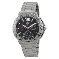 tag heuer formula 1 chronograph black dial stainless steel men s tag heuer formula 1 chronograph black dial stainless steel men s watch cau1112