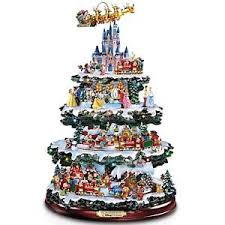 Image is loading Disney-Through-the-Years-Rotating-Christmas-Tree-Hawthorn- Disney Through the Years Rotating Christmas Tree Hawthorn NEW 50+