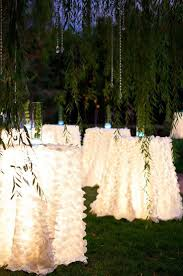 66 best images about outdoor weddings on for under table lighting ideas
