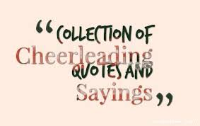 Cheerleading Quotes Gorgeous Collection Of Cheerleading Quotes And Sayings Quotes