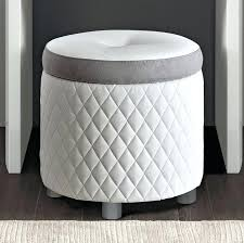 white stool for dressing table white stitched leather dressing table stool white dressing table stool