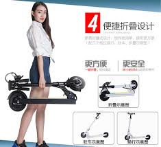 Joyor Jiuyue adult electric scooter folding <b>folding portable mini</b>-type ...