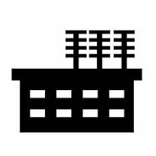 変電所シルエット イラストの無料ダウンロードサイトシルエットac