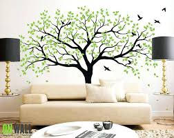 vinyl tree wall decal zoom white vinyl tree wall decal