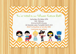 costume party invites halloween kids costume party invitation happy halloween