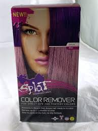 Splat Bleach Timing Chart Splat Color Remover Creatingaweb Co
