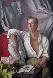 Serge IVANOFF (Russian 1893 - 1983) Portrait of <b>Jacques Fath</b> ...
