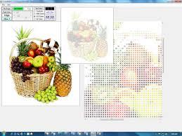 Cross Stitch Chart Generator Lockbits Crossstitch Pattern Creator Color Reduction Vb