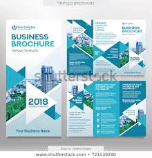 Brochure Template Tri Fold Business Brochure Template Tri Fold Layout Stock Vector Royalty